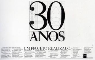 30 anos - Um projeto...