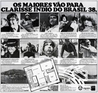 Os maiores vão para... (Clarisse Índio do Brasil)